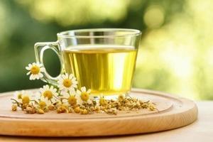 чай с настойкой ромашки