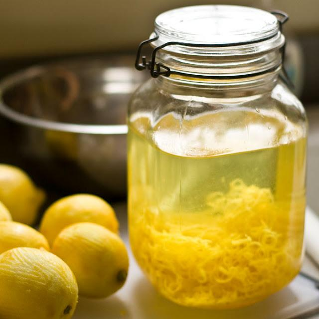 Ликер из лимонов