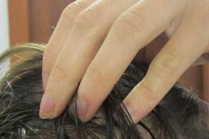 Перцовая настойка на корнях волос