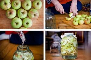 как готовить яблочную наливку