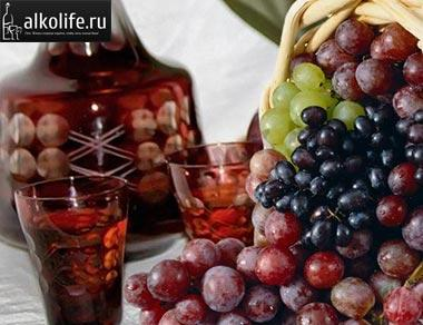 виноградная наливка крепленая фото