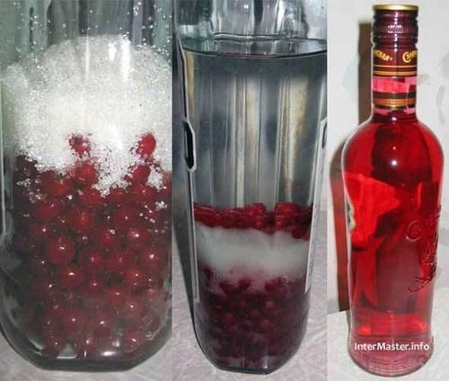 зиливаем водку в ягоды