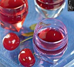 вишневая настойка с водкой