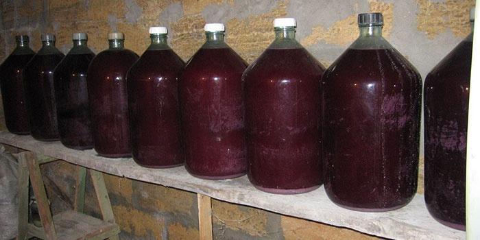 Домашнее вино из аронии
