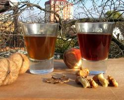 грецкий орех для настойки