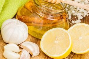 Лимоны и чеснок