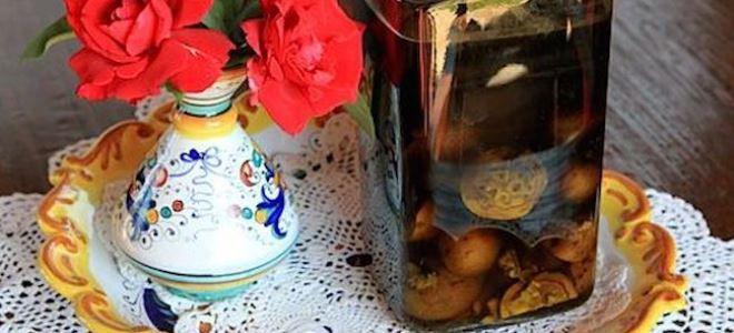 настойка на зеленых грецких орехах на водке