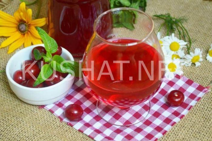 6_вишневая наливка в домашних условиях