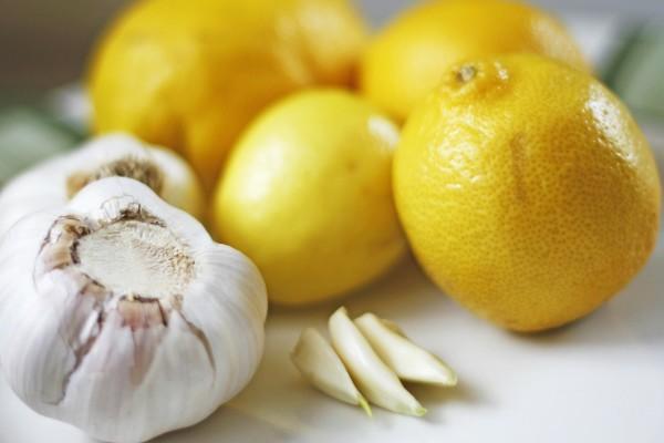 Чеснок с лимоном для очищения сосудов
