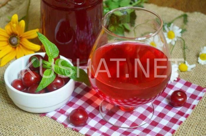 7_вишневая наливка в домашних условиях