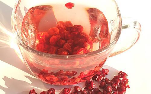 Целебный отвар из сушёных ягод