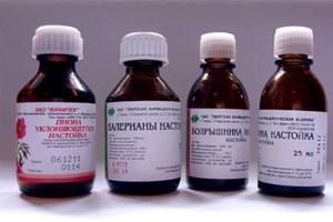 Готовые аптечные настойки