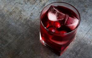 клюквенный алкоголь