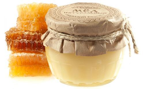 Натуральный мёд в баночке
