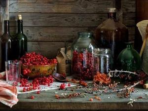 Рецепт для приготовления настойки калины с вином