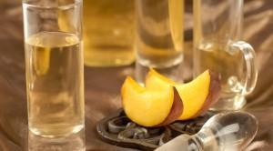 водка на персиках