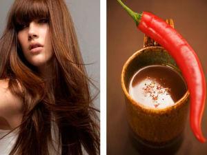 Применение перцовой настойки для волос