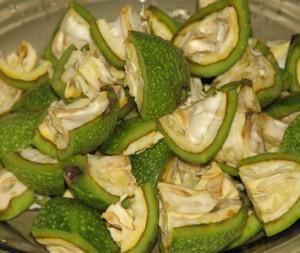 Фото измельченных зеленых грецких орехов, ylik.ru