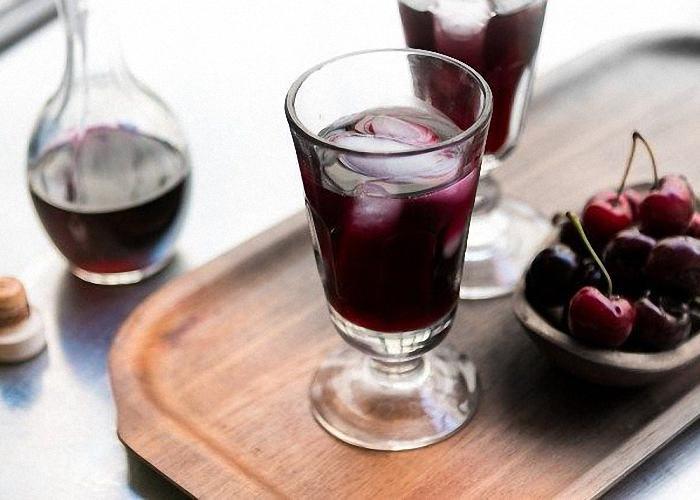 Домашнее вино из компота вишни
