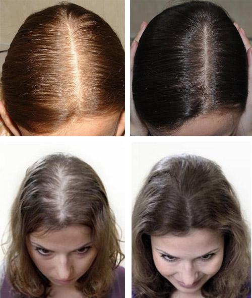 До и после использования перцовки
