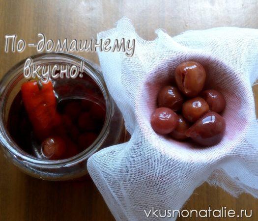 вишневая настойка на спирту пошаговый рецепт