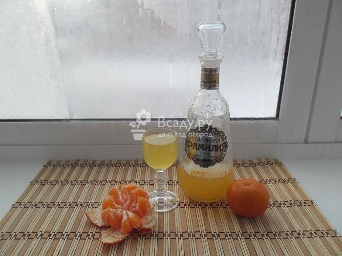 Цитрусовая домашняя настойка на водке