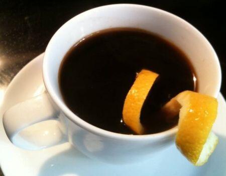 С добавлением кофе и апельсиновой цедры