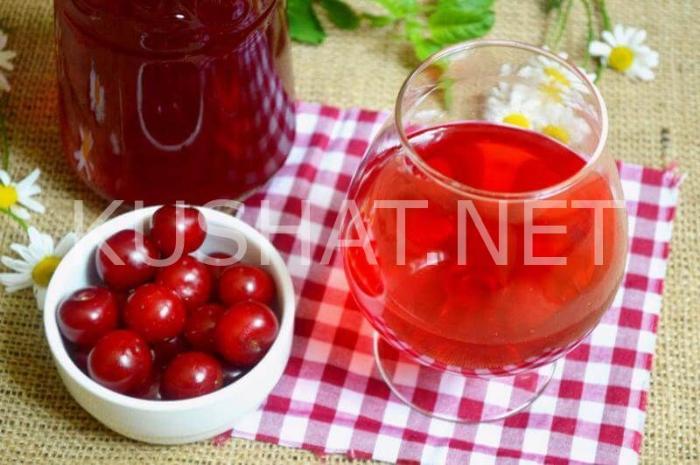 8_вишневая наливка в домашних условиях