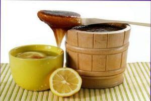 смесь чеснока меда и яблочного уксуса